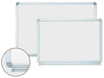 Магнитно-маркерная доска настенная (600х400 мм, серебряный алюминиевый багет) - Стенды - Магнитно-маркерные доски - vektorb.ru