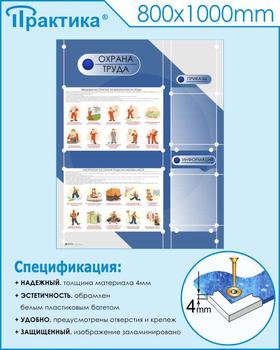 Стенд Специальная оценка условий труда ( 1000х1000 мм, белый пластиковый багет) - Стенды - Стенды по охране труда - vektorb.ru